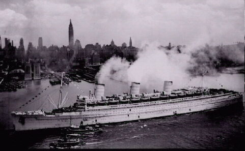 The Queen Mary At War