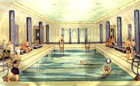 The Tourist Class Pool And Gymnasium