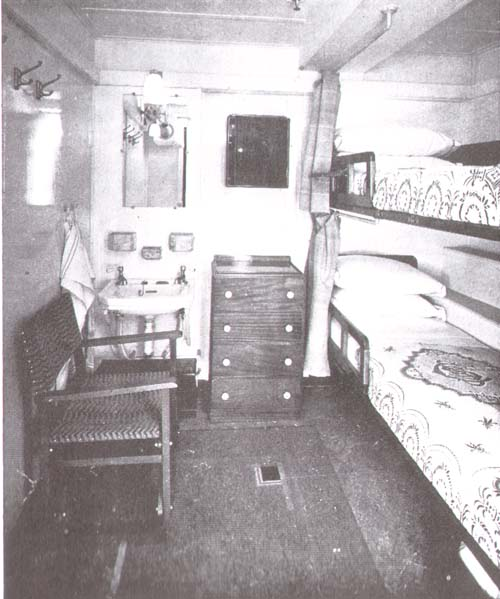 Third Class Staterooms