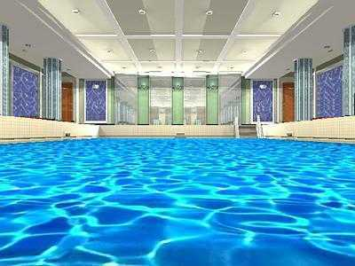 The tourist class pool and gymnasium - Was the titanic filmed in a swimming pool ...