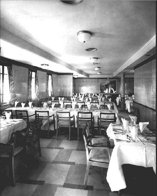 The Third Class Dining Room